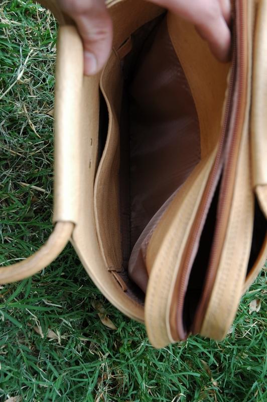 poche intérieure dans le sac