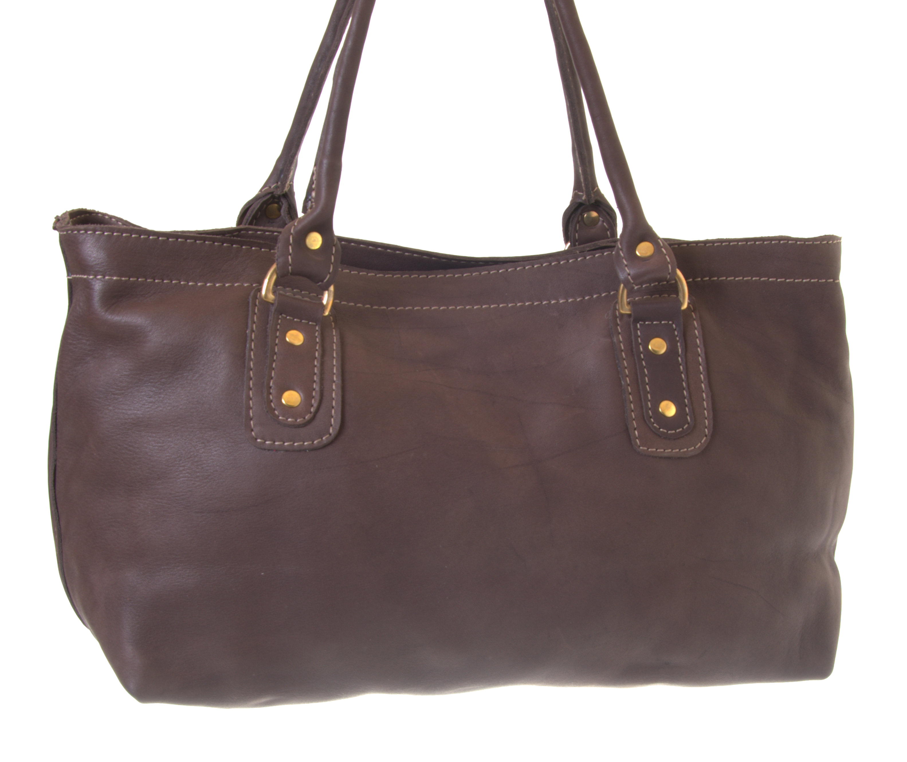 Abi - From Zambia - fair trade leather bag