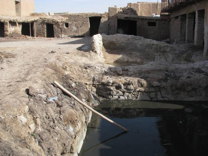 Laugen in der Gerberei im Rahmen der natürlichen (chromfreien) Ledergerbung in Nord-Afghanistan