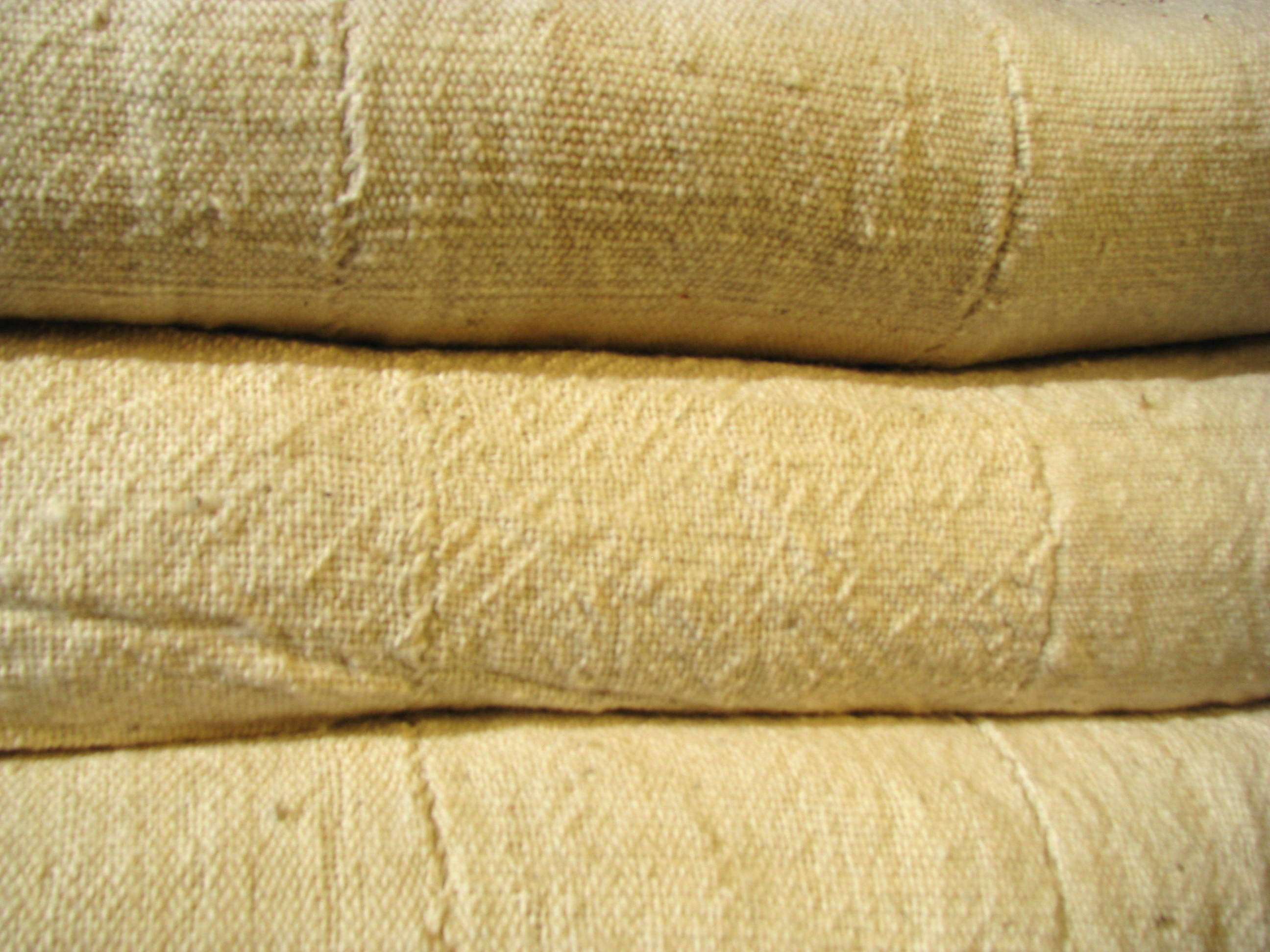 nice cotton plaid - bed cover - handmade - Burkina Faso