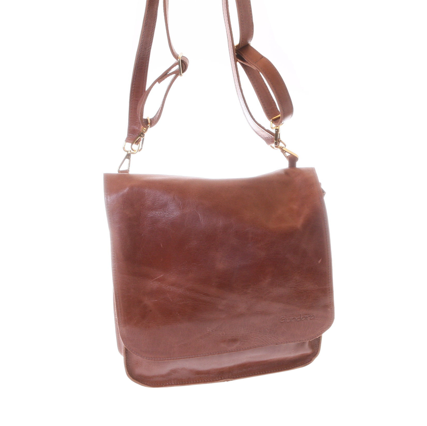 Gundara - fair backpack or handback from genuine cow leather - practical and chic from Ethiopia