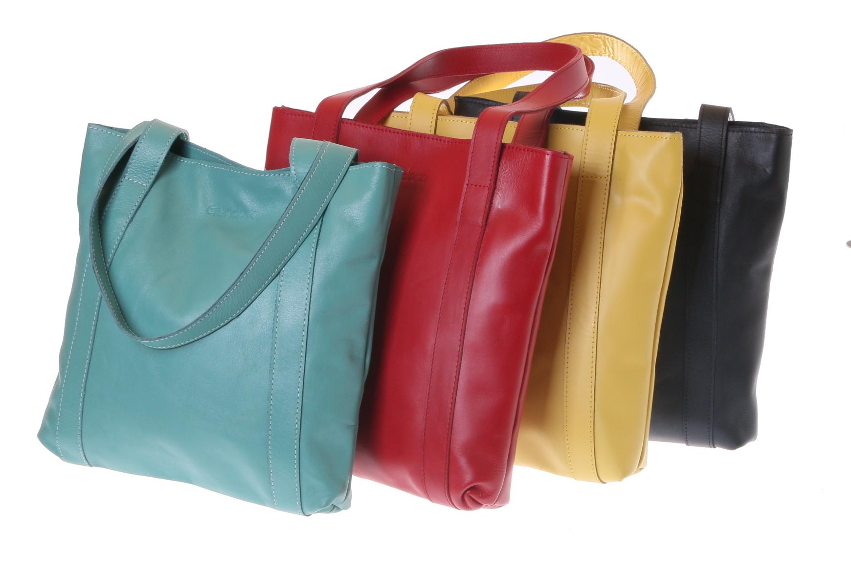 Gundara - shoulder bag - genuine cow leather - handmade in Ethiopia