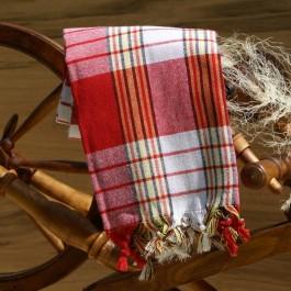 hamam pastemal handtuch in rot von ottoman gundara. Black Bedroom Furniture Sets. Home Design Ideas