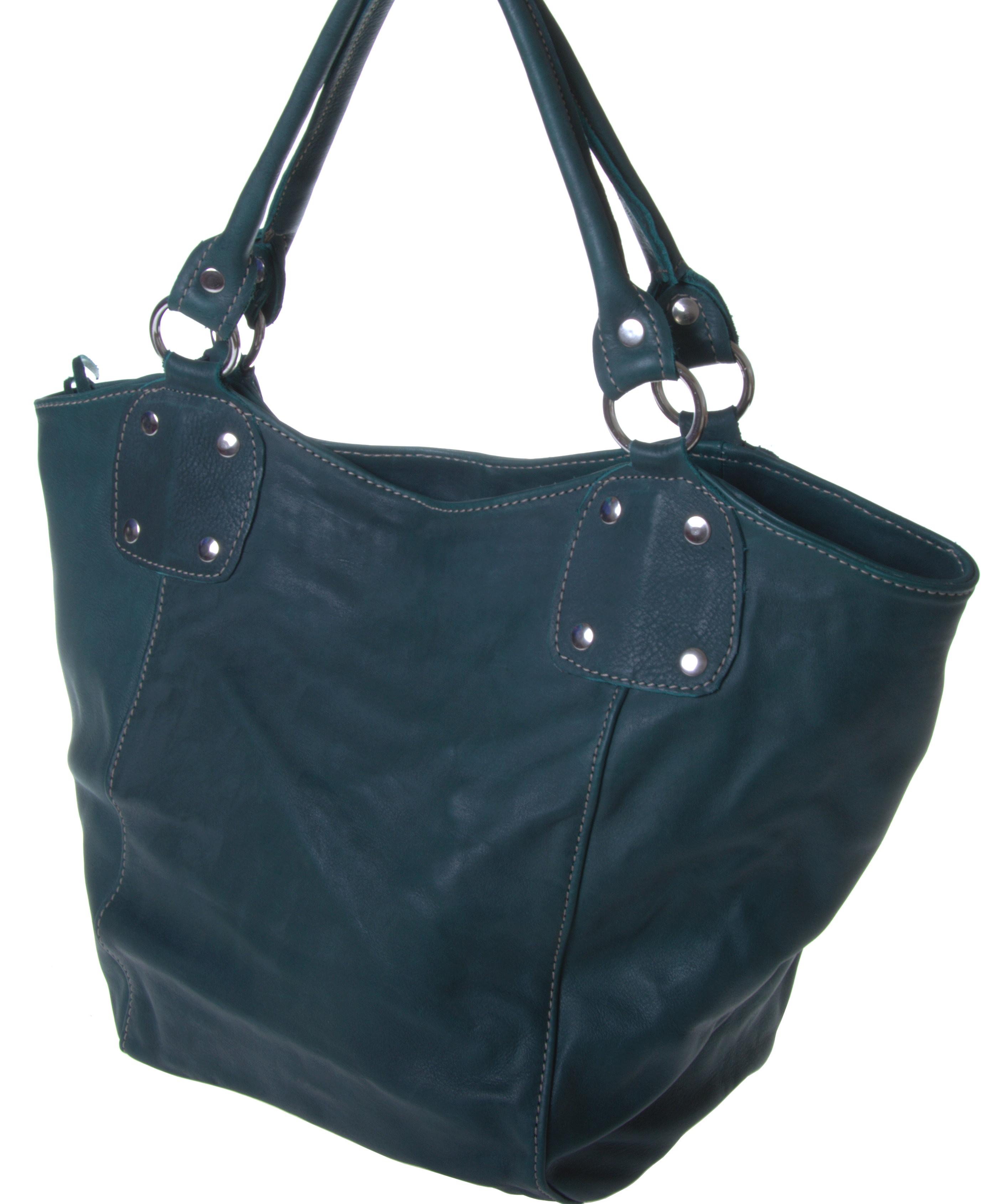 Jackal & Hide - Sambia - Unikat - verschiedene Farben - elegante Handtasche Bucket Mini