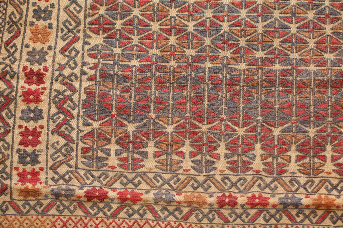 Old Herati Suzani Rug Gundara