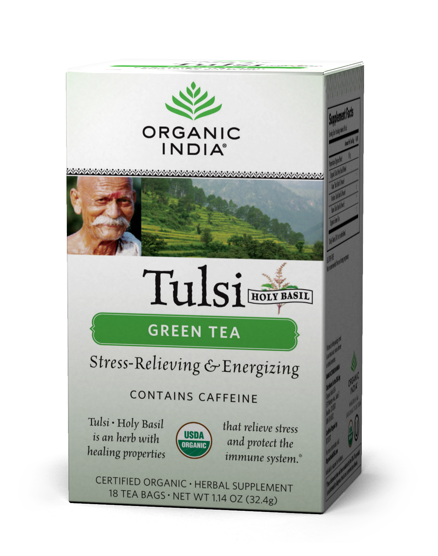how to prepare tulsi green tea