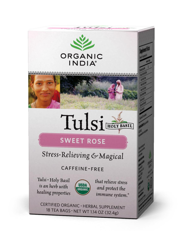 Sweet herbal teas