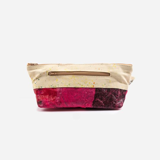 Up-fuse - cosmetics bag - handmade - ethical, fair & vegan from Egypt