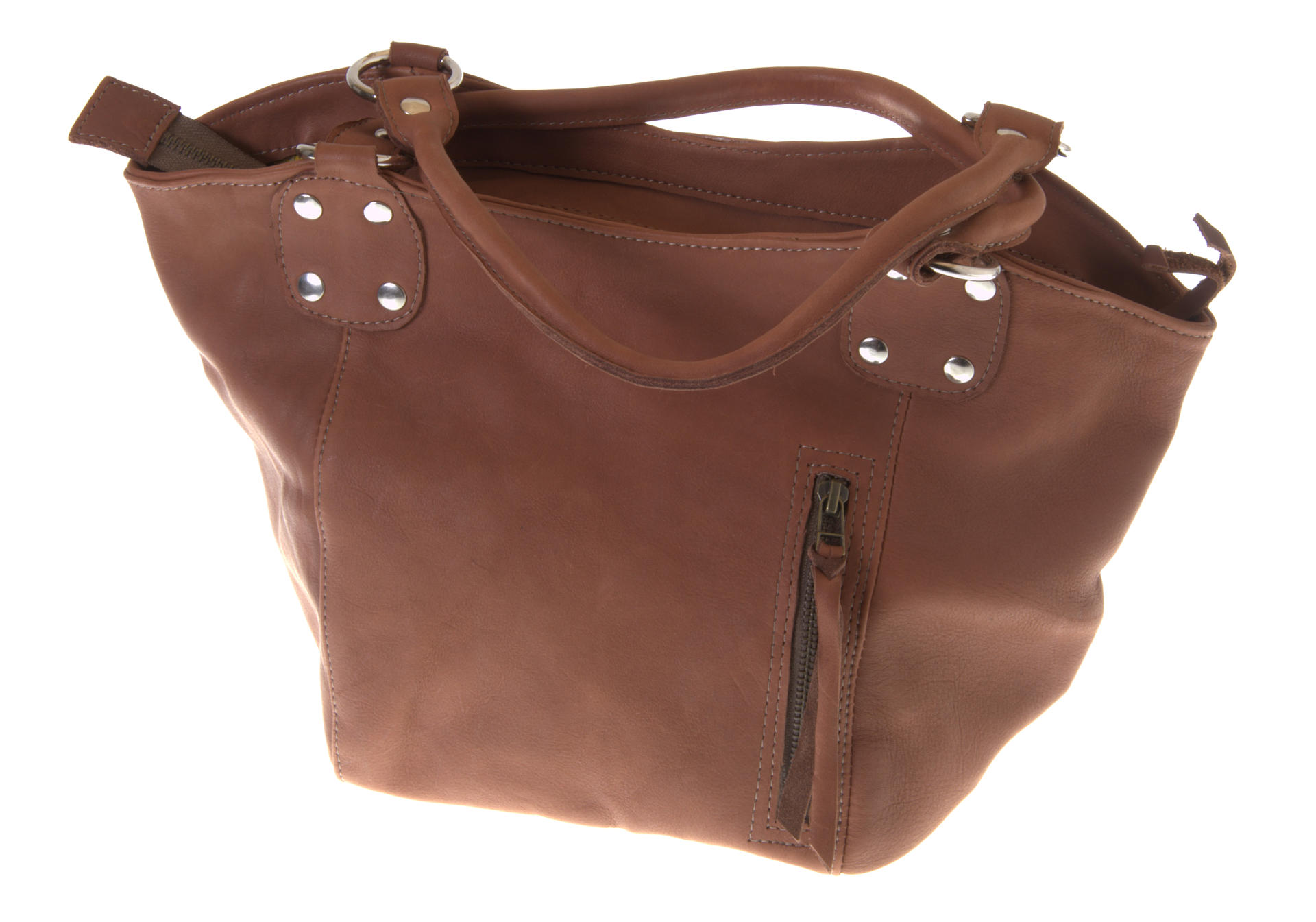 Mini Bucket leather bag by Jackal and Hide