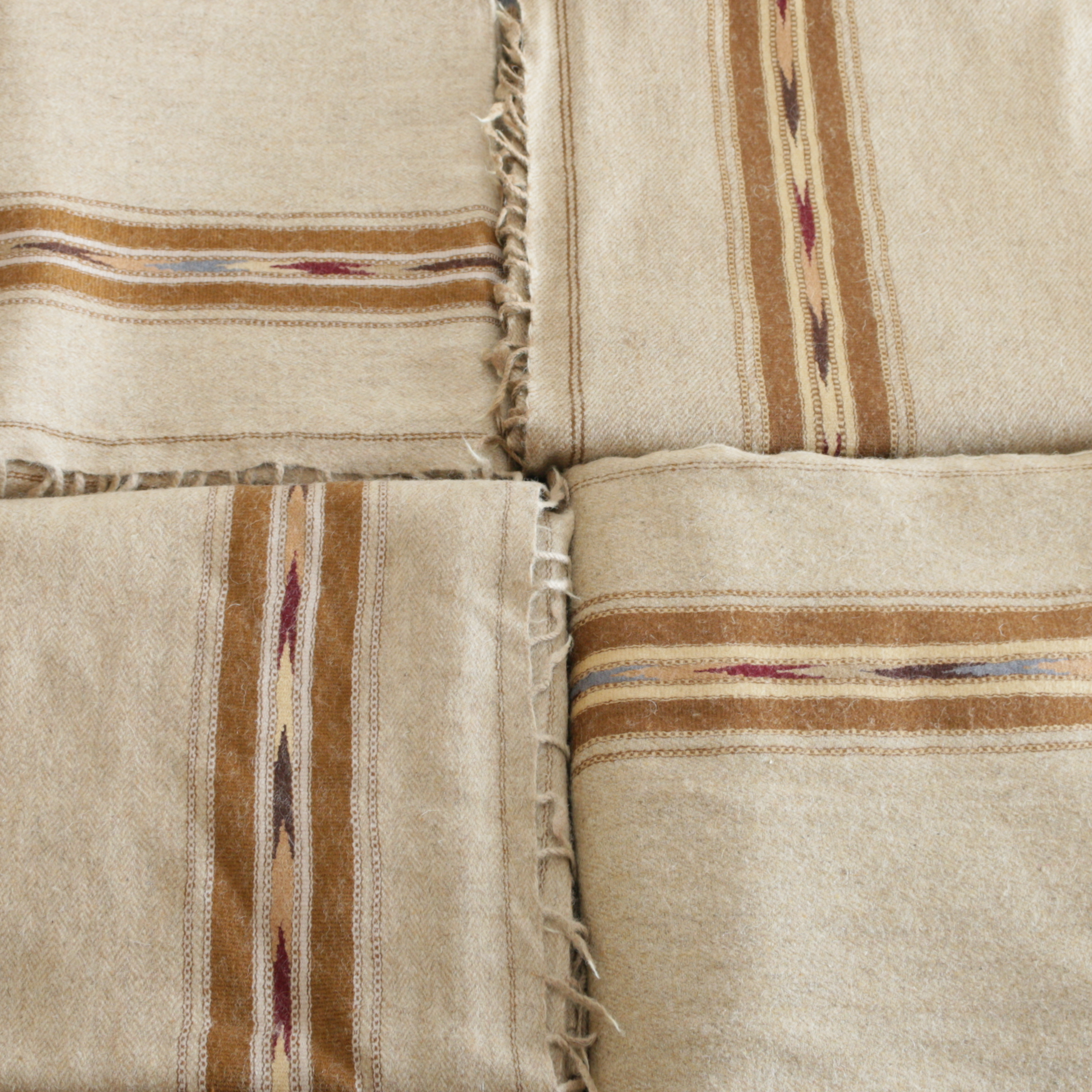 handwoven plaid from Swat