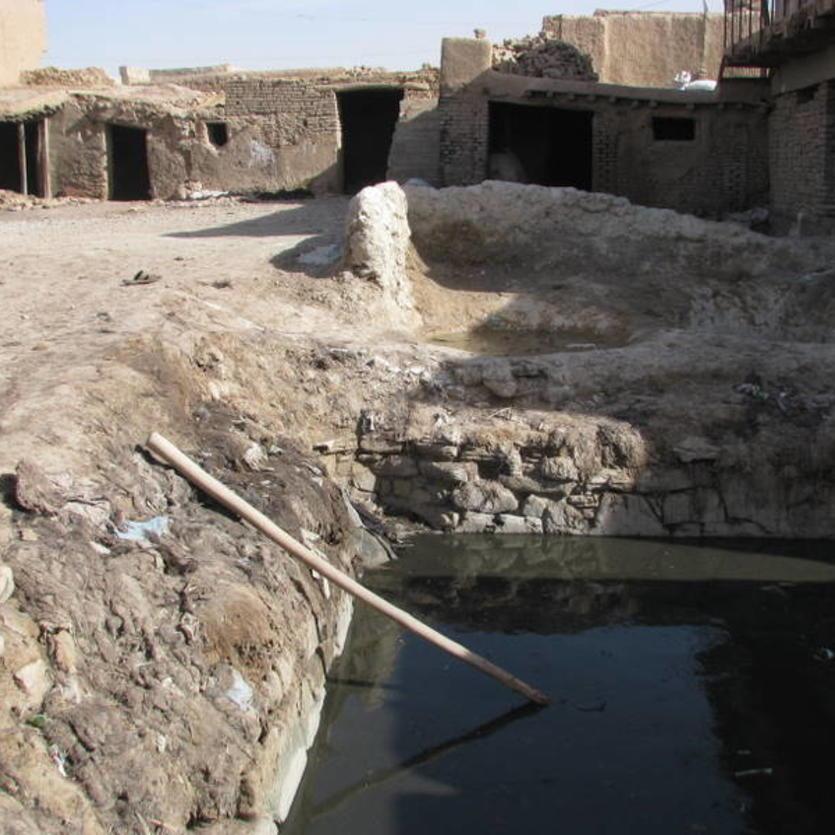 Gundara - Leather tanning in Khulm, Northern Afghanistan - step 3