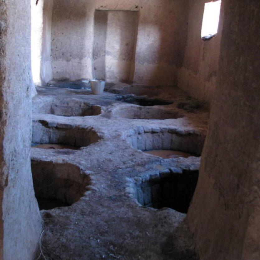 Gundara - Leather tanning in Khulm, Northern Afghanistan - step 5