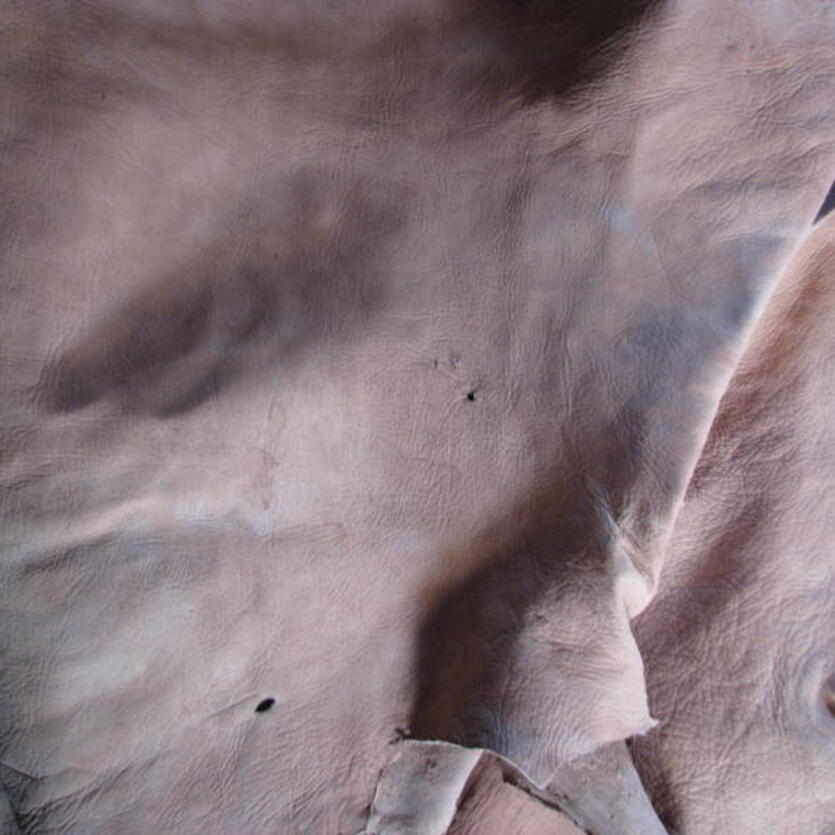 Leather tanning in Khulm, Northern Afghanistan - step 10
