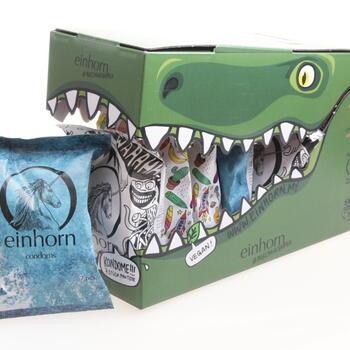 Einhorn Krokodile Kondome