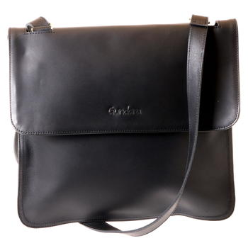 Gundara - cross-body leather bag - genuine cow leather- handmade in Ethiopia - fair trade