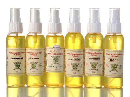 organic argan body oil