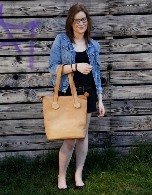 Echtleder Einkaufstasche Cecilia - Foto Ulrika Walmark