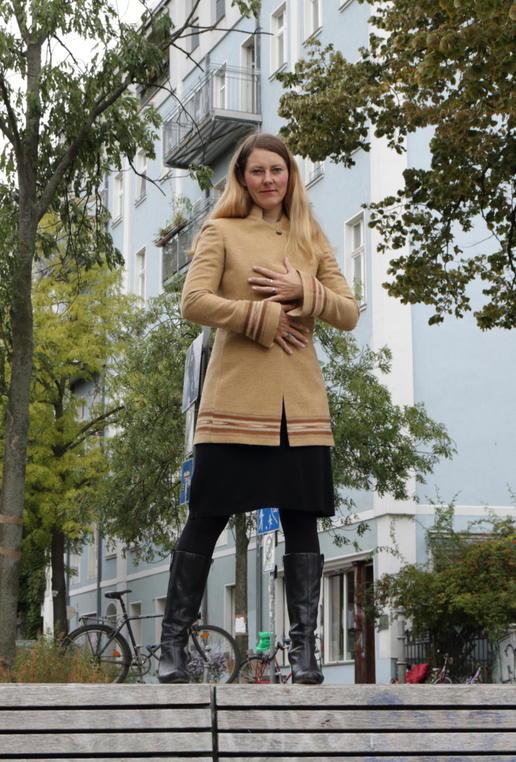 Gundara Design - long jacket - Afghan style