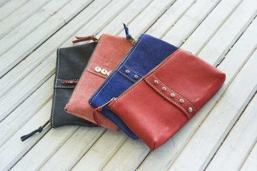 Jackal and Hide small pouches