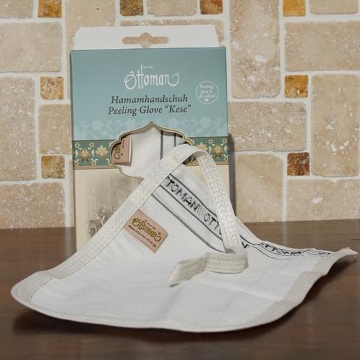 Kese - Peeling-Handschuh zur Hautpflege von Ottoman -  gegen Zellulitis