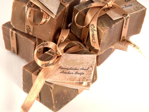 Ottoman - Oud and Amber Soap - exclusive soap from Turkey