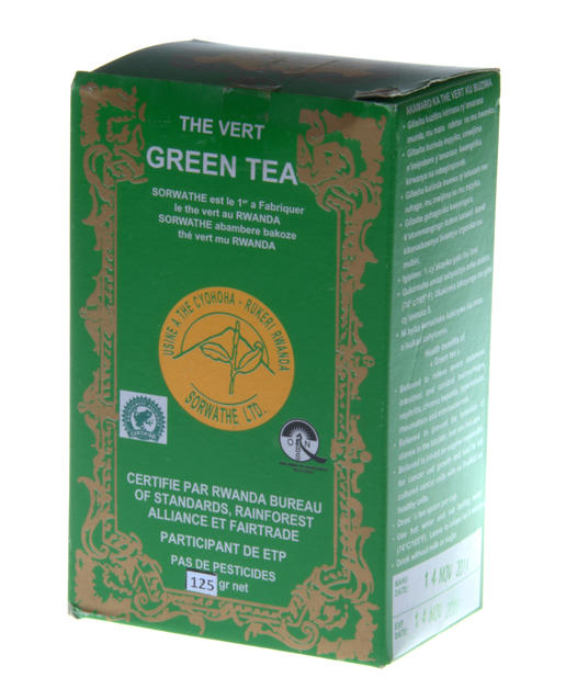 Grüner Tee - loser Tee - aus Ruanda