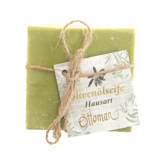 green natural vegan soap