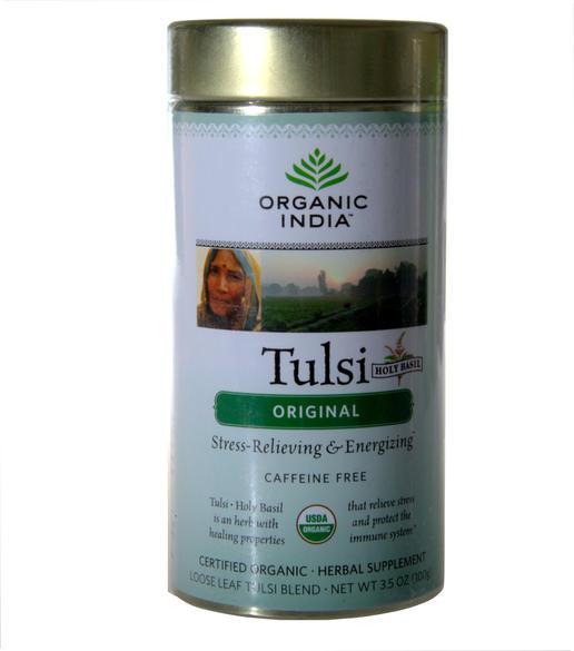 100g Box Loose Tulsi Chai Masala Organic India