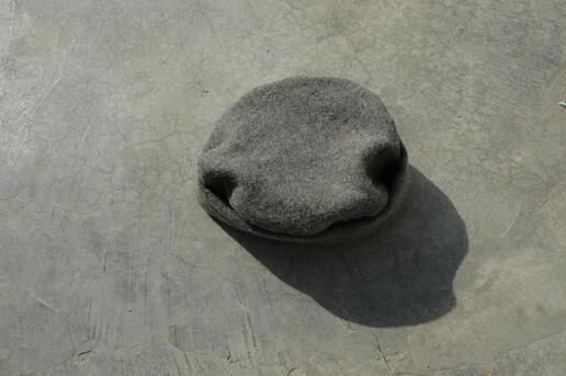 Zardozi - modern pakol - wollen hat from Afghanistan