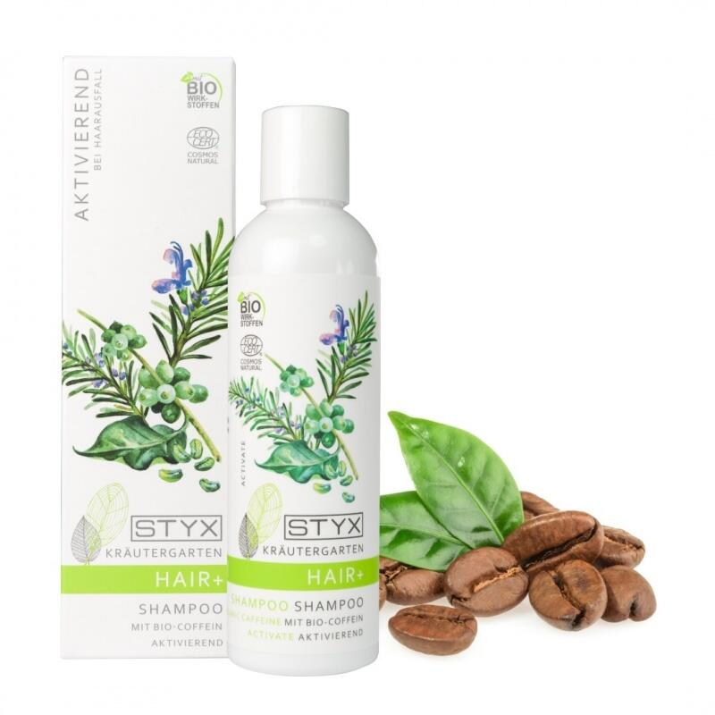 Shampoo mit Bio-Koffein bei Haarausfall und für Haarwuchs