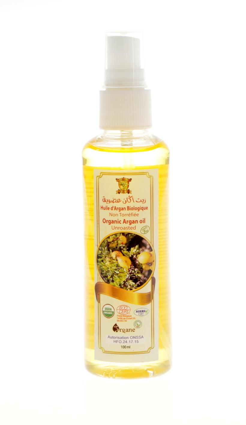 100ml unroasted argan body oil