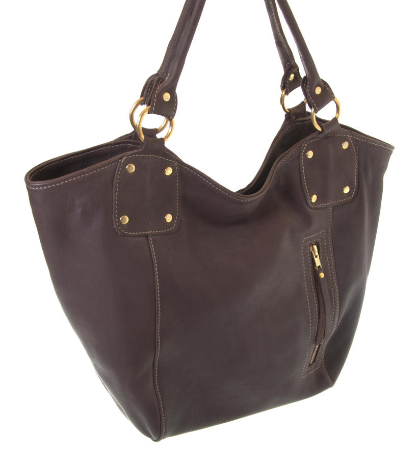 Bucket - Shoulder bag from Zambia