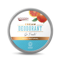 Go Fresh - Cream deodorant, organic from Bulgaria