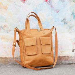 Gundara - Happy Laura - nice and practical shoulder bag - genuine leather
