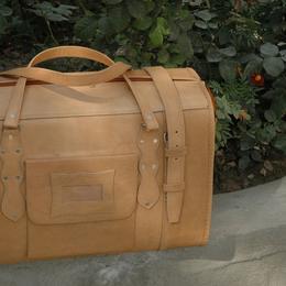 Gundara - Reisetasche Medium Klassik - Leder-Reisetasche
