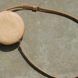 Gundara - Kolola - Schultertasche - Naturleder - rund - schlicht - zeitlos