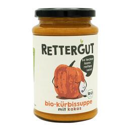 bio Kürbissuppe bei Rettergut
