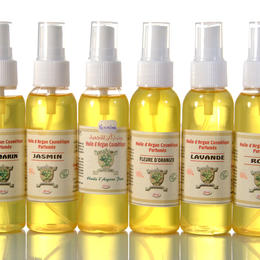 organic argan body oil