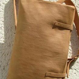 sac à dos en cuir naturel - gundara - fait en Afghanistan