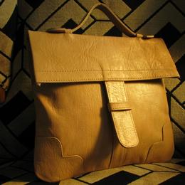 natural leather handbag - Granny's Fanciest - Gundara