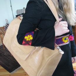 Gundara - Natural leather Sport Bag - genuine leather - from Afghanistan