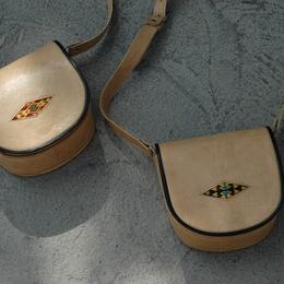 Gundara - Summer Cutie - evening shoulder bag - pure leather - from Afghanistan