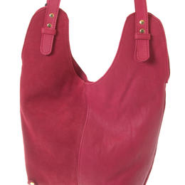 Hobbo red shoulder bag