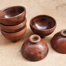 Gundara - desert bowls - clay - handmade - Burkina Faso - fair trade