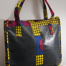 Angaza - tote bag - upcycling from Rwanda - fair trade
