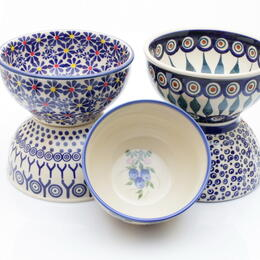 Boleslawiec style bowls