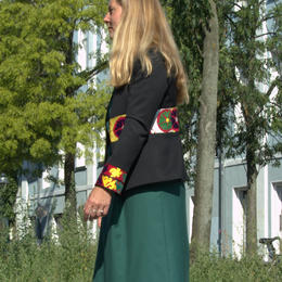Gundara Design - short jacket - beautiful Afghan embroidery