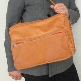 plain leather bag