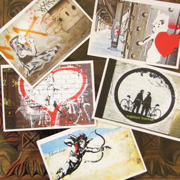 Annblick - postcards - street art - graffiti - Berlin art