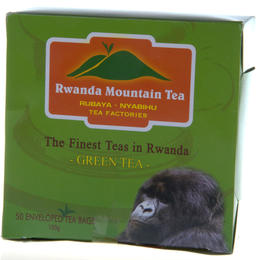Rwanda Mountain Tea - Green Tea - 50 tea bags